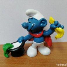 Figuras de Goma y PVC: MUÑECO PITUFO DE GOMA SCHLEICH. Lote 270357033