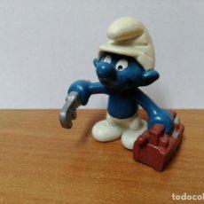 Figuras de Goma y PVC: MUÑECO PITUFO DE GOMA SCHLEICH. Lote 270357073
