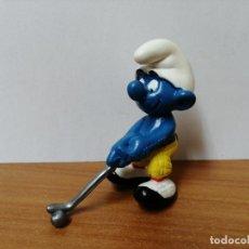 Figuras de Goma y PVC: MUÑECO PITUFO DE GOMA SCHLEICH. Lote 270357148