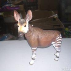 Figuras de Goma y PVC: SCHLEICH FIGURA DE PVC OKAPI SERIE ANIMALES SALVAJES ZOO. Lote 270380763