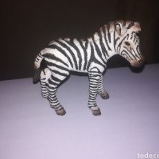 Figuras de Goma y PVC: SCHLEICH FIGURA DE PVC CRIA DE CEBRA SERIE ANIMALES SALVAJES ZOO SAFARI. Lote 270402053