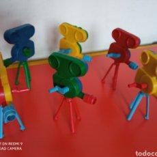 Figuras de Goma y PVC: LOTE DE 6 CÁMARAS DE VÍDEO EN MINIATURA.BARATIJAS LA FÁBRICA 70S.NUEVAS.. Lote 270650373