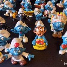 Figuras de Goma y PVC: LOTE 45 PITUFOS PEYO SIN MARCA. Lote 270690063