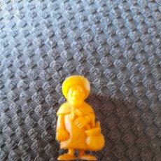 Figuras de Goma y PVC: DUNKIN PHOSKITOS MA DALTON LUCKY LUKE SERIE AMARILLA. Lote 270695453