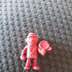 Figuras de Goma y PVC: DUNKIN PHOSKITOS PREMIUM BRUGUERA CARPANTA SERIE ROJO. Lote 270868433