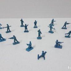 Figuras de Goma y PVC: LOTE DE SOLDADITOS MONTAPLEX - ALEMANES . AÑOS 70 / 80. Lote 270934918