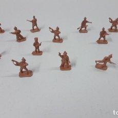 Figuras de Goma y PVC: LOTE DE SOLDADITOS MONTAPLEX . BRITANICOS . AÑOS 70 / 80. Lote 270937813