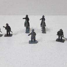 Figuras de Goma y PVC: LOTE DE SOLDADITOS MONTAPLEX . CONFEDERADOS . AÑOS 70 / 80. Lote 270937963