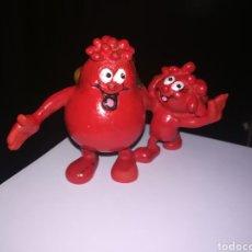 Figuras de Goma y PVC: GLOBULO ROJO FIGURA DE PVC AÑOS 80 ERASE UNA VEZ LA VIDA. Lote 270965698