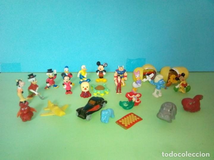 LOTE FIGURAS KINDER (Juguetes - Figuras de Gomas y Pvc - Kinder)