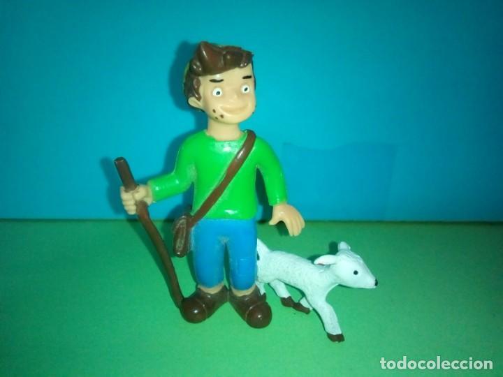 FIGURA COMICS SPAIN PEDRO HEIDI (Juguetes - Figuras de Goma y Pvc - Comics Spain)