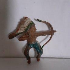 Figuras de Borracha e PVC: FIGURA INDIO EN GOMA PECH,REAMSA,JECSAN. Lote 271388173