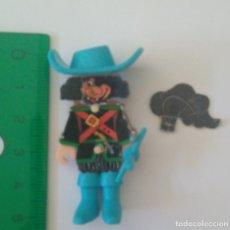 Figuras Kinder: MOSQUETERO KINDER MONTABLE ESPADACHIN FIGURA K95 MUÑECO ANTIGUO. Lote 271557893