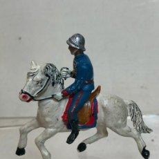 Figuras de Goma y PVC: OFICIAL A CABALLO - ESCOLTA DEL GENERALISIMO, DESPERFECTOS - GOMA, TEIXIDO. Lote 271573088