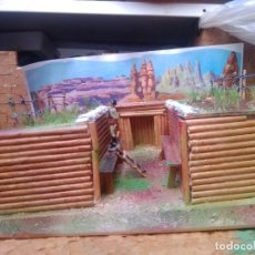 Figuras de Goma y PVC: TRINCHERA DE PECH. Lote 271872913