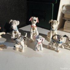 Figuras de Goma y PVC: FIGURAS PVC 101 DALMATAS LOTE DE OCHO. DISNEY. BULLY. Lote 271909088