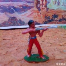 Figuras de Goma y PVC: INDIO DE COMANSI. Lote 271992003