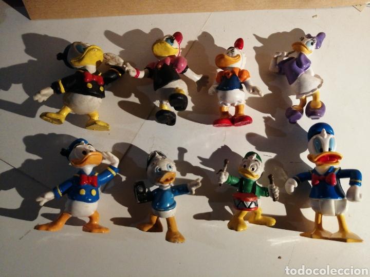 Figuras de Goma y PVC: Lote FIGURAS PATO DONALD Y FAMILIA. DISNEY - Foto 2 - 272012103
