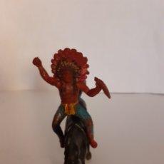 Figure di Gomma e PVC: FIGURA INDIO A CABALLO GOMA,PECH,REAMSA,JECSAN. Lote 272055168