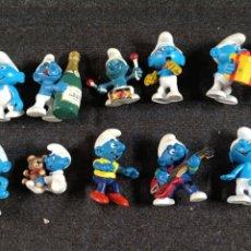 Figuras de Goma y PVC: PITUFOS VARIOS. Lote 272195928
