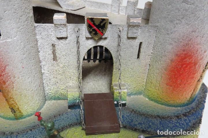 Figuras de Goma y PVC: CASTILLO MEDIEVAL - MARCA STARLUX - MADERA - FABRICADO EN FRANCIA - Foto 3 - 272252448