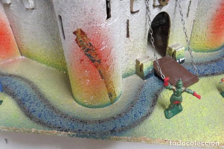 Figuras de Goma y PVC: CASTILLO MEDIEVAL - MARCA STARLUX - MADERA - FABRICADO EN FRANCIA - Foto 6 - 272252448