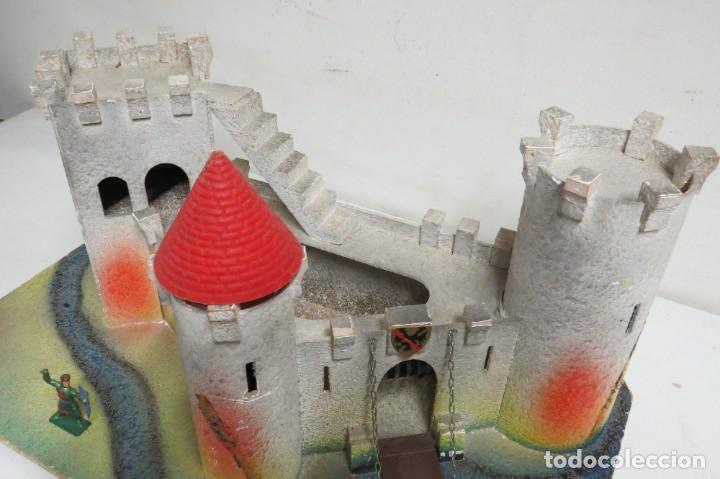 Figuras de Goma y PVC: CASTILLO MEDIEVAL - MARCA STARLUX - MADERA - FABRICADO EN FRANCIA - Foto 7 - 272252448