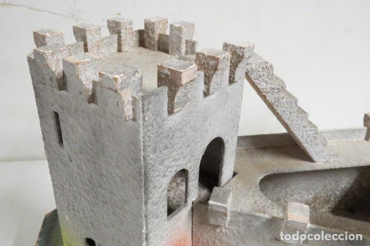 Figuras de Goma y PVC: CASTILLO MEDIEVAL - MARCA STARLUX - MADERA - FABRICADO EN FRANCIA - Foto 9 - 272252448