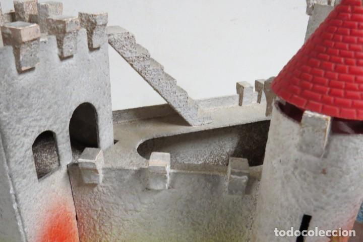 Figuras de Goma y PVC: CASTILLO MEDIEVAL - MARCA STARLUX - MADERA - FABRICADO EN FRANCIA - Foto 11 - 272252448