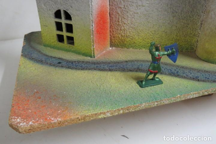 Figuras de Goma y PVC: CASTILLO MEDIEVAL - MARCA STARLUX - MADERA - FABRICADO EN FRANCIA - Foto 12 - 272252448