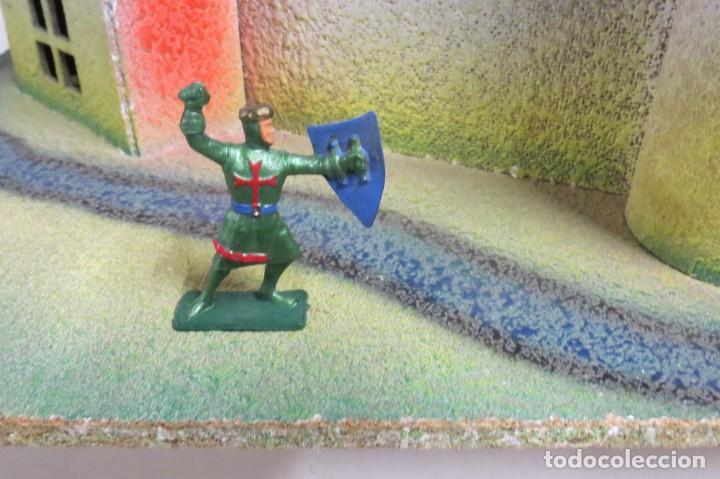Figuras de Goma y PVC: CASTILLO MEDIEVAL - MARCA STARLUX - MADERA - FABRICADO EN FRANCIA - Foto 13 - 272252448