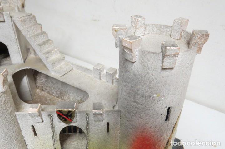 Figuras de Goma y PVC: CASTILLO MEDIEVAL - MARCA STARLUX - MADERA - FABRICADO EN FRANCIA - Foto 17 - 272252448
