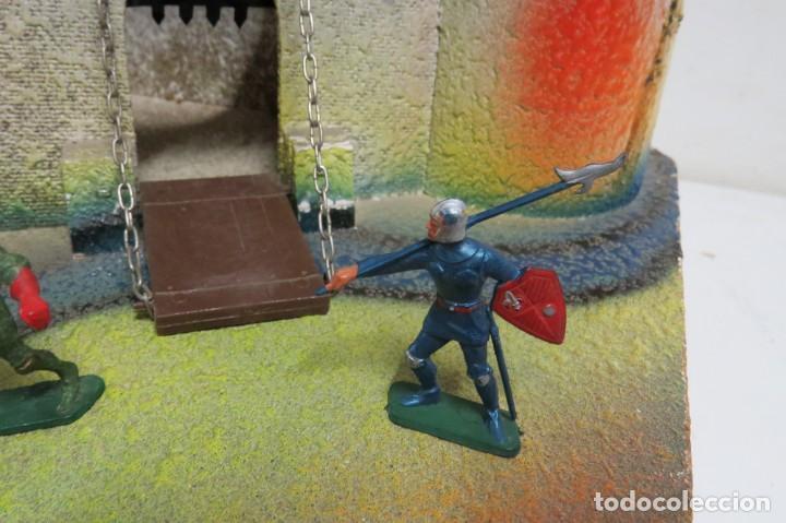 Figuras de Goma y PVC: CASTILLO MEDIEVAL - MARCA STARLUX - MADERA - FABRICADO EN FRANCIA - Foto 19 - 272252448