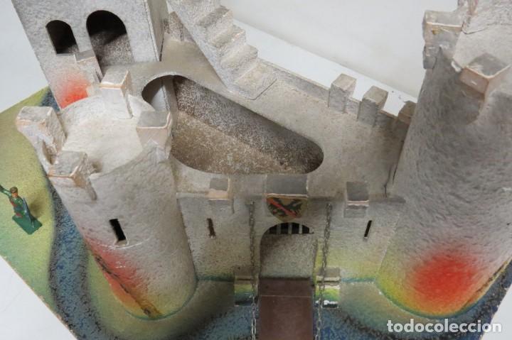 Figuras de Goma y PVC: CASTILLO MEDIEVAL - MARCA STARLUX - MADERA - FABRICADO EN FRANCIA - Foto 21 - 272252448
