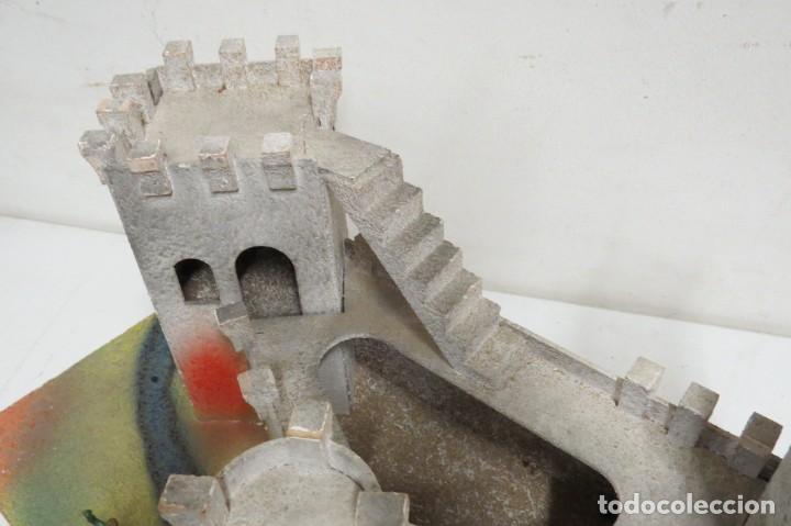 Figuras de Goma y PVC: CASTILLO MEDIEVAL - MARCA STARLUX - MADERA - FABRICADO EN FRANCIA - Foto 22 - 272252448