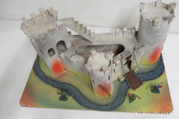 Figuras de Goma y PVC: CASTILLO MEDIEVAL - MARCA STARLUX - MADERA - FABRICADO EN FRANCIA - Foto 23 - 272252448