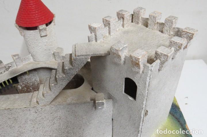Figuras de Goma y PVC: CASTILLO MEDIEVAL - MARCA STARLUX - MADERA - FABRICADO EN FRANCIA - Foto 25 - 272252448