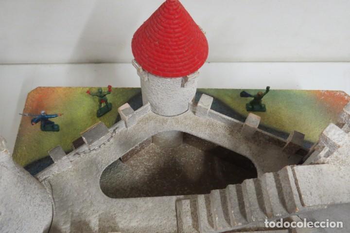 Figuras de Goma y PVC: CASTILLO MEDIEVAL - MARCA STARLUX - MADERA - FABRICADO EN FRANCIA - Foto 27 - 272252448