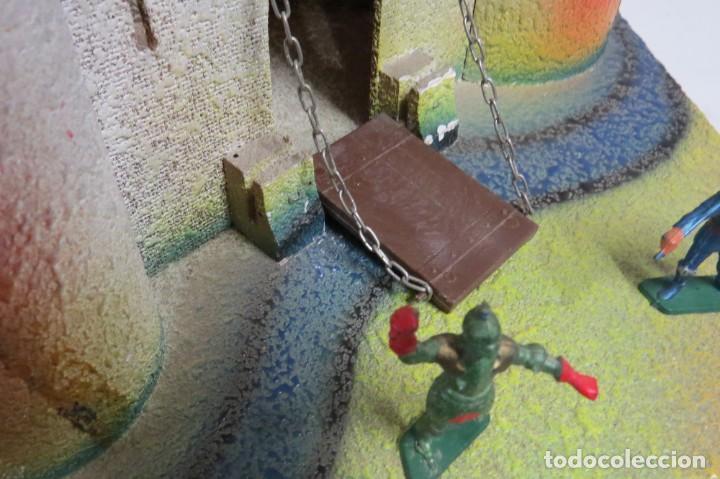 Figuras de Goma y PVC: CASTILLO MEDIEVAL - MARCA STARLUX - MADERA - FABRICADO EN FRANCIA - Foto 30 - 272252448