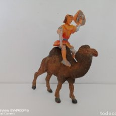 Figuras de Borracha e PVC: EL CAPITÁN TRUENO EN CAMELLO ESTEREOPLAST JECSAN PECH. Lote 272780468