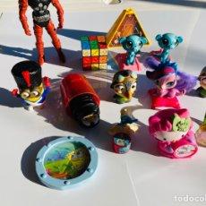 Figuras de Goma y PVC: JUGUETES MC DONALS, KINDER, JUGUETE ANTIGUO, CO. Lote 273064093