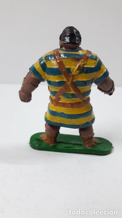 Figuras de Goma y PVC: GOLIATH . REALIZADO POR JIN . SERIE EL CAPITAN TRUENO . ORIGINAL AÑOS 50 EN GOMA - Foto 2 - 273433708
