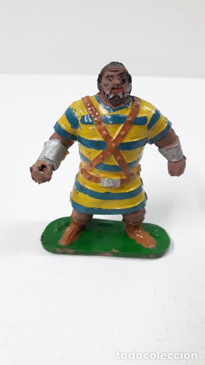 Figuras de Goma y PVC: GOLIATH . REALIZADO POR JIN . SERIE EL CAPITAN TRUENO . ORIGINAL AÑOS 50 EN GOMA - Foto 3 - 273433708