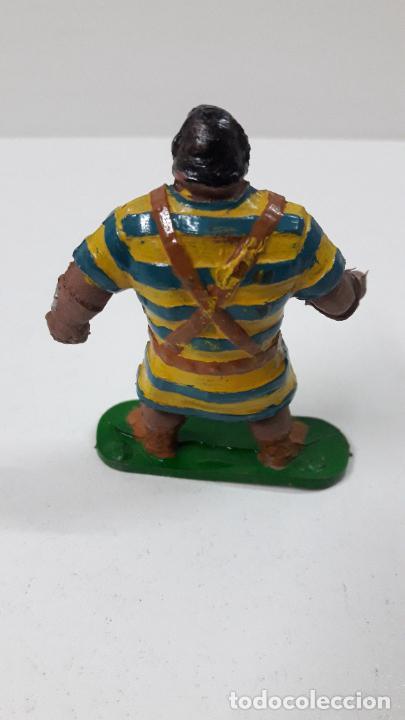 Figuras de Goma y PVC: GOLIATH . REALIZADO POR JIN . SERIE EL CAPITAN TRUENO . ORIGINAL AÑOS 50 EN GOMA - Foto 4 - 273433708