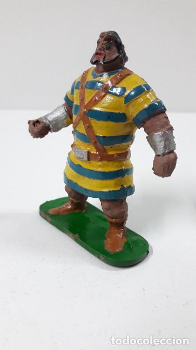 Figuras de Goma y PVC: GOLIATH . REALIZADO POR JIN . SERIE EL CAPITAN TRUENO . ORIGINAL AÑOS 50 EN GOMA - Foto 5 - 273433708