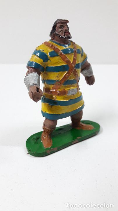 Figuras de Goma y PVC: GOLIATH . REALIZADO POR JIN . SERIE EL CAPITAN TRUENO . ORIGINAL AÑOS 50 EN GOMA - Foto 6 - 273433708
