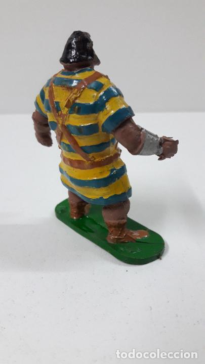Figuras de Goma y PVC: GOLIATH . REALIZADO POR JIN . SERIE EL CAPITAN TRUENO . ORIGINAL AÑOS 50 EN GOMA - Foto 7 - 273433708