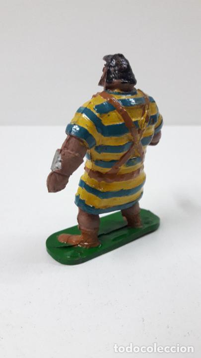 Figuras de Goma y PVC: GOLIATH . REALIZADO POR JIN . SERIE EL CAPITAN TRUENO . ORIGINAL AÑOS 50 EN GOMA - Foto 8 - 273433708