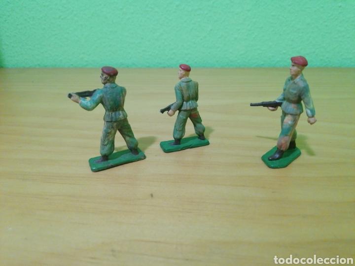 Figuras de Goma y PVC: Soldados segunda guerra mundial. - Foto 2 - 273665093