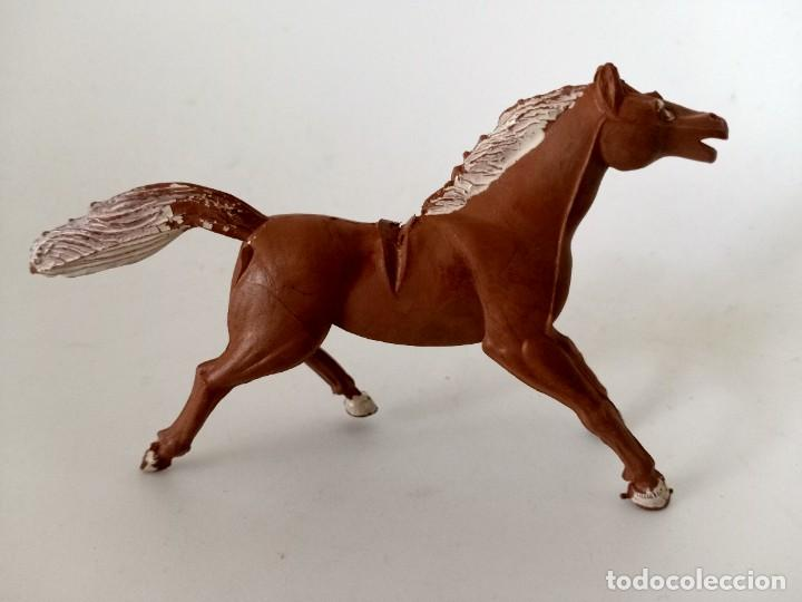 FIGURA CABALLO INDIO GOMA SOTORRES (Juguetes - Figuras de Goma y Pvc - Sotorres)